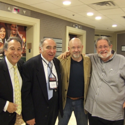 with Guy Touvron, Frank Kaderabek & Bobby Shew